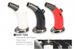 KCF-180 2-in-1 Torch Cigar Lighter