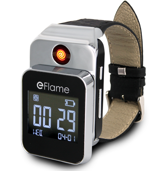 KCF-286 Electronic watch & USB Lighter