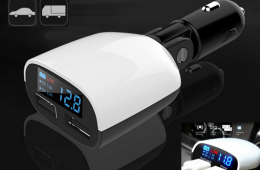 OTH-055 LED DUAL USB CAR CHARGER