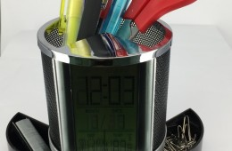 OTH-033 Iron Mesh Calendar Pen Holder